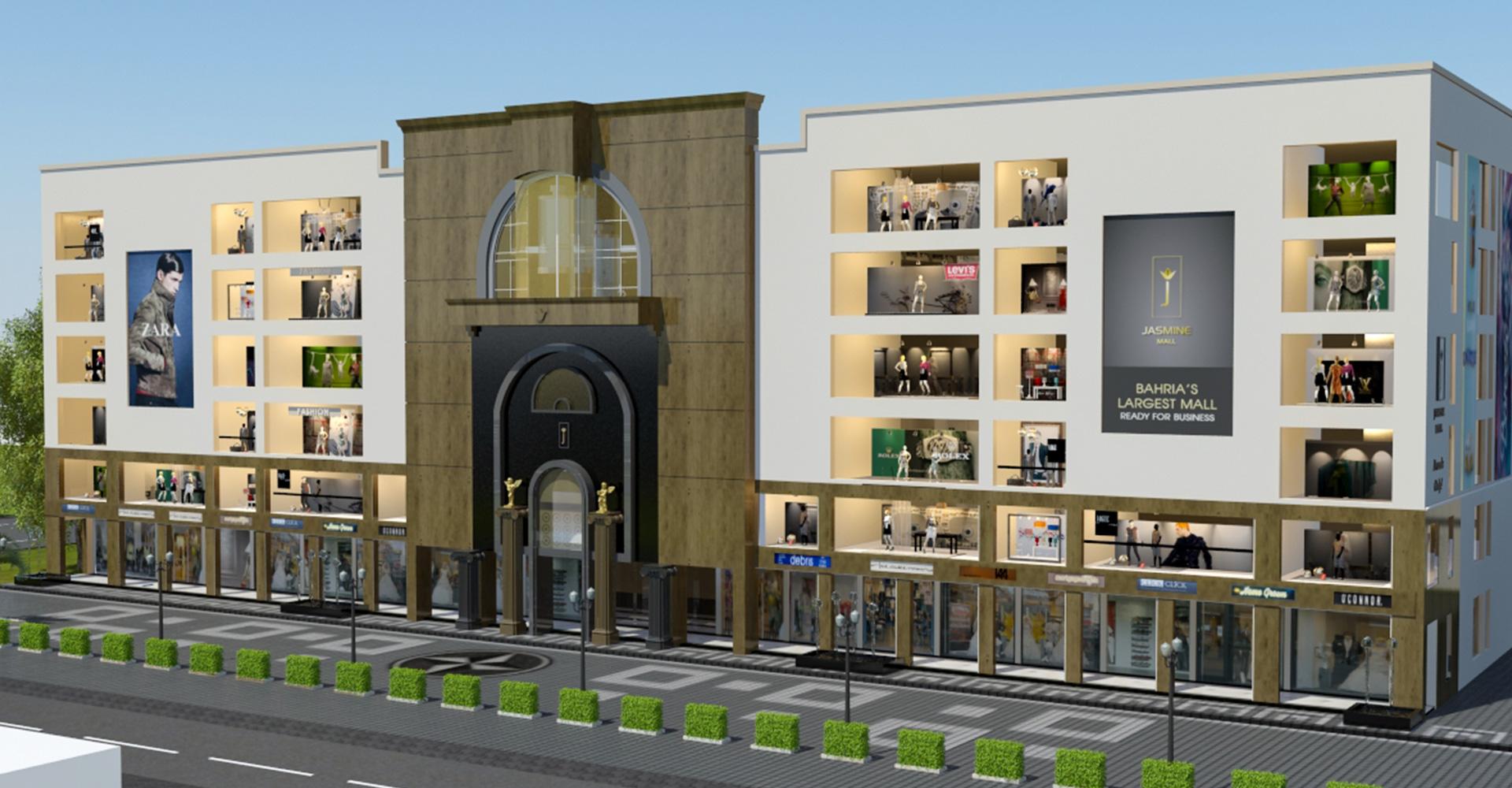 Building-Design-Hiline-Lahore-portfolio-Jasmine-Mall-Bahria-Town-07
