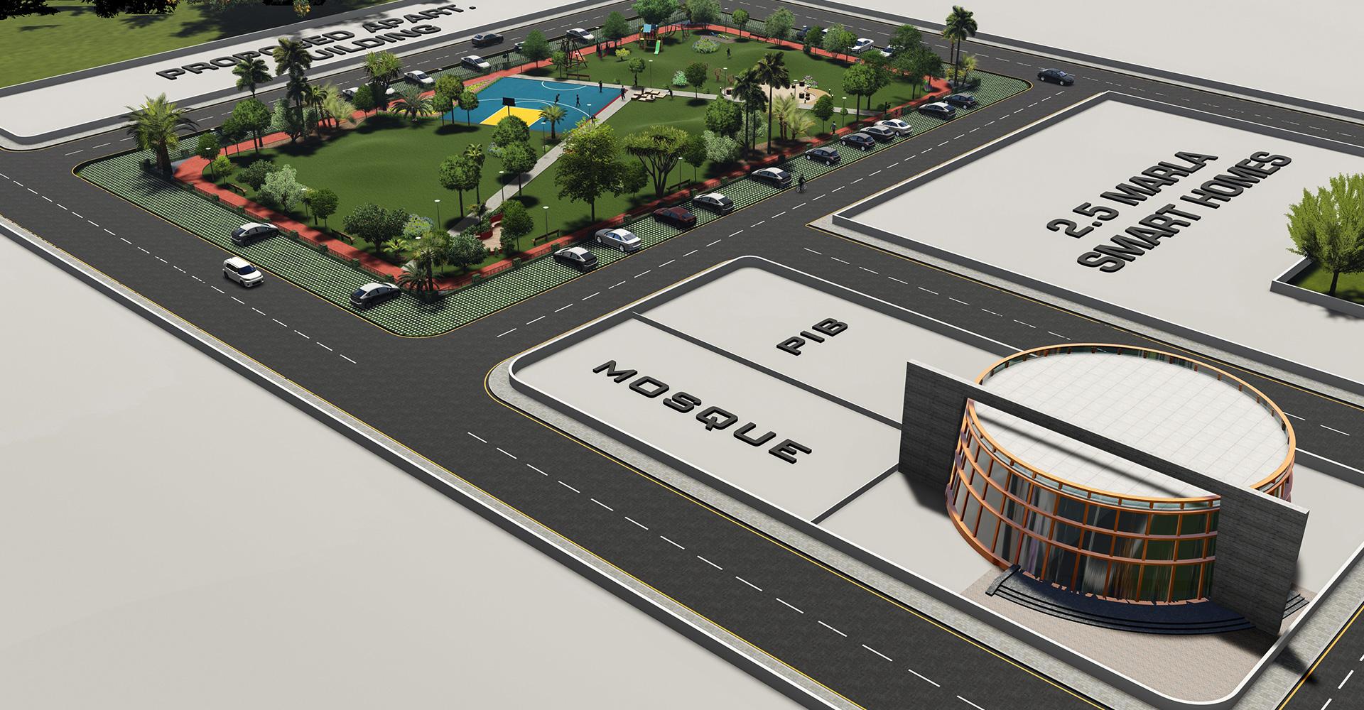 Residential-Design-Hiline-Lahore-portfolio-Maryam-Town-06