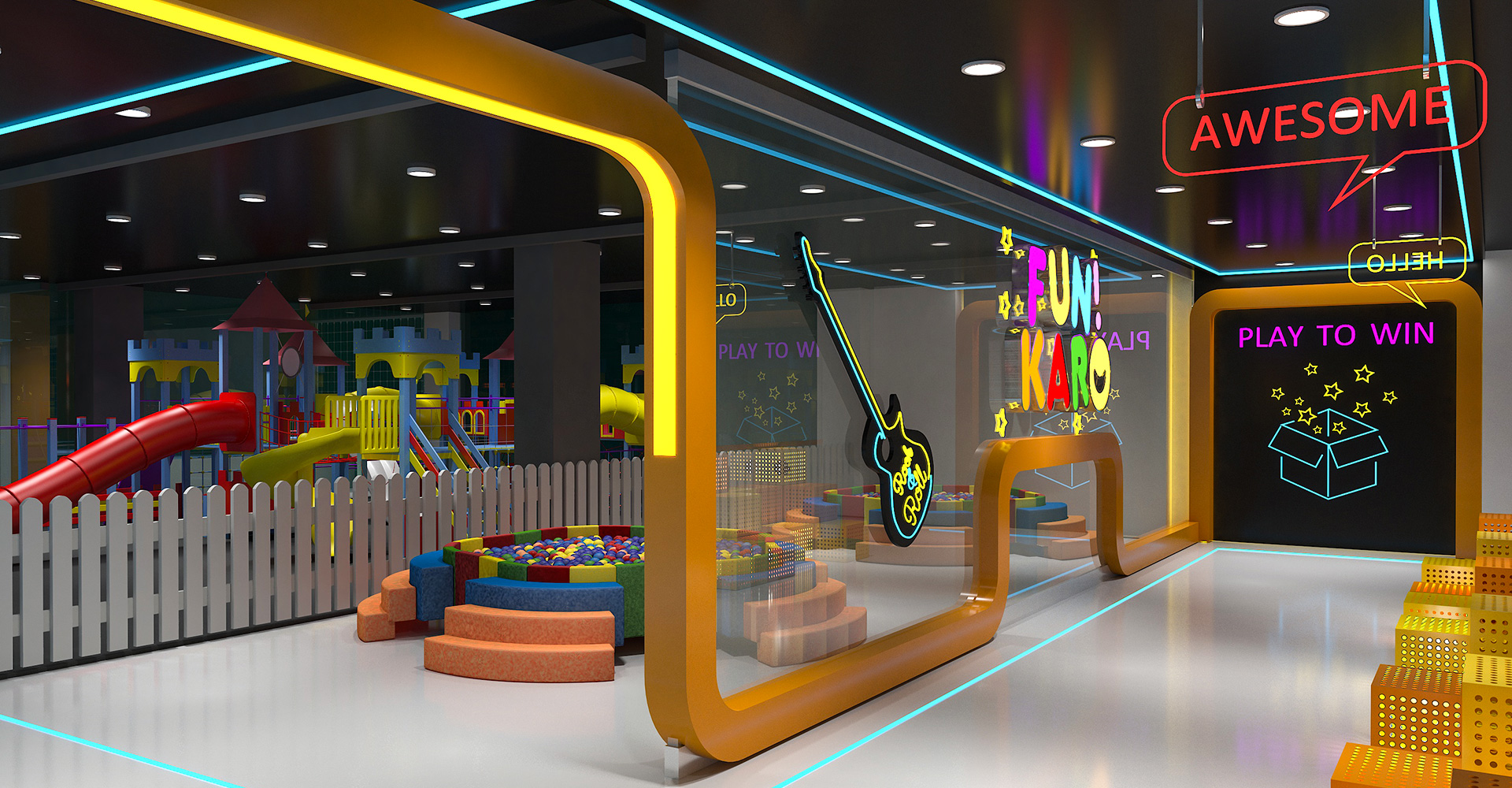 Interior-Design-Hiline-Lahore-portfolio-Fun-Karo-Jasmine-Mall-03